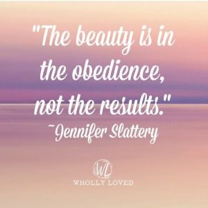 quote image-beauty is in the obedience